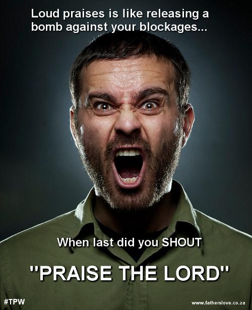 Angel of praise and breakthrough Loud Praises