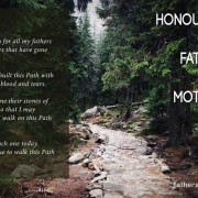 Honouring Our Father's and Mother's