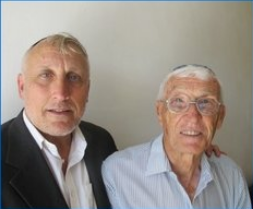 Rabbi Avraham Feld and Ovadyah Avrahami, founders of Kol hator