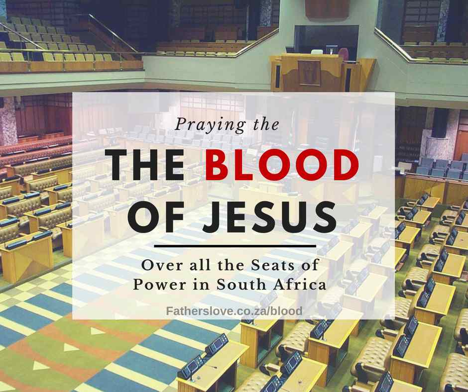 Praying the Blood of Jesus over South Africa