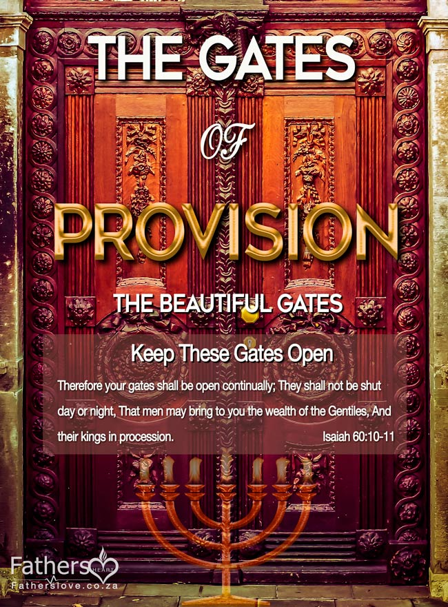Gates-of-Provision - Financial Breakthrough