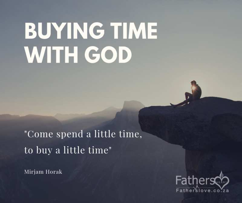 Buying time with God