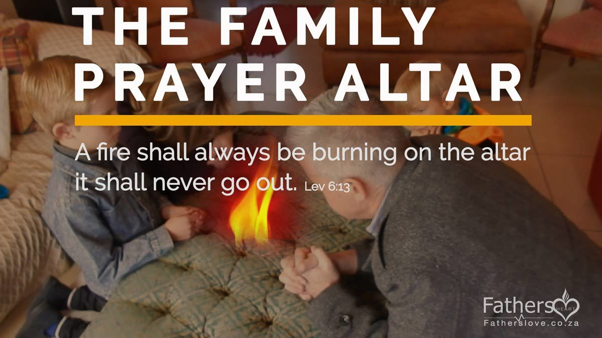 Family prayer Altar and Business Prayer Altar